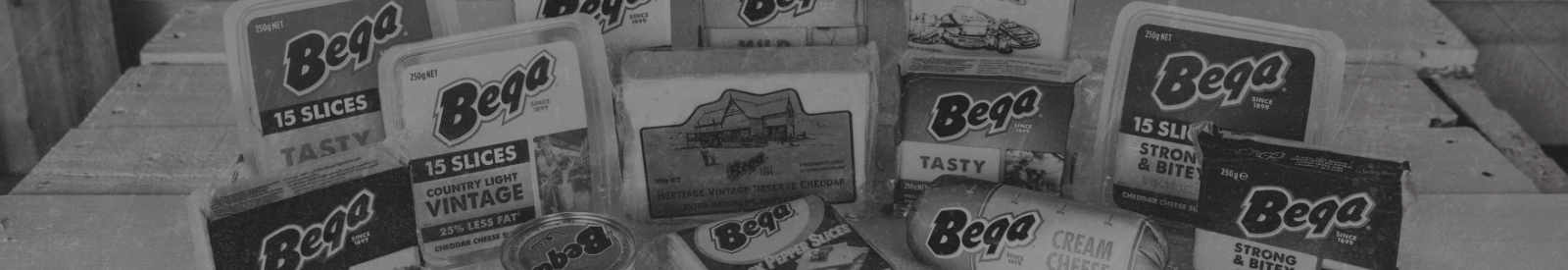 Cheese selections at the Bega Cheese Heritage Centre